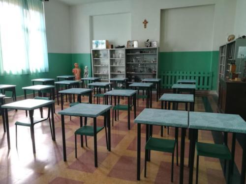 Secondaria di 1° grado - aule