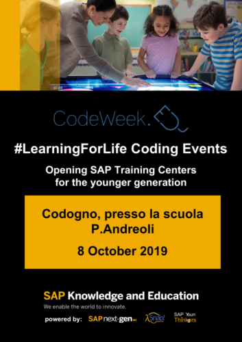 codeweek p.andreoli codogno poster A1